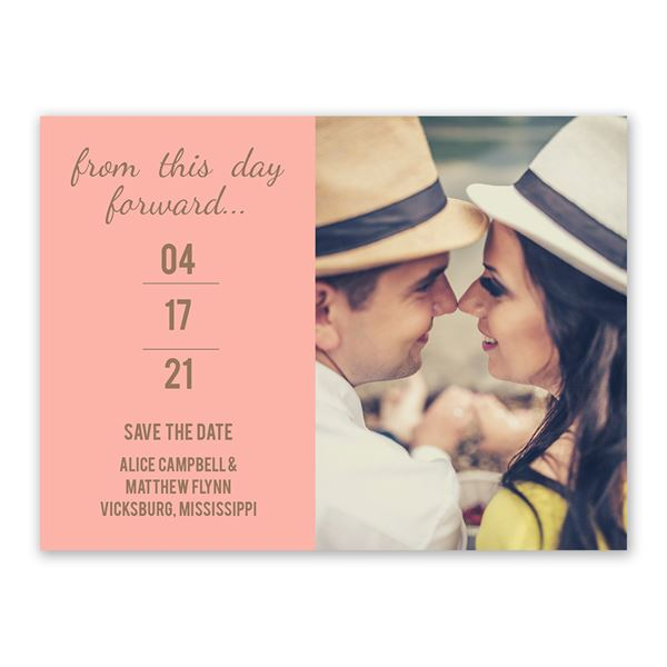 Simply Special Save the Date Card