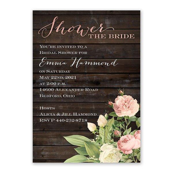 Freshly Picked Bridal Shower Invitation