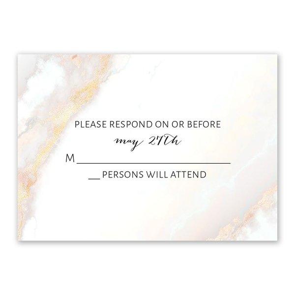 Agate Sparkle Response Card