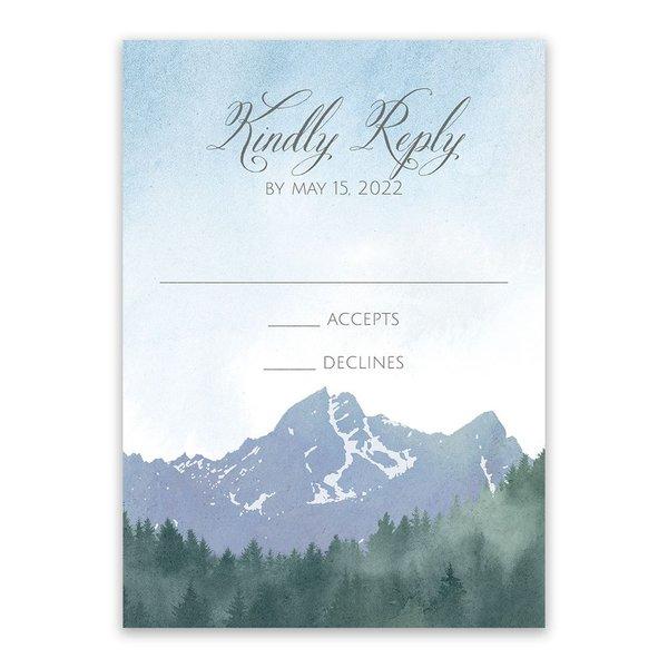 Mountain Pine Response Card