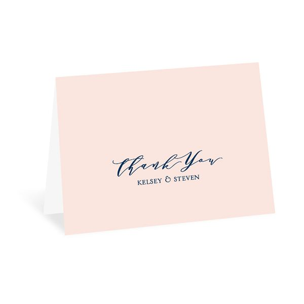 Clarity Thank You Card