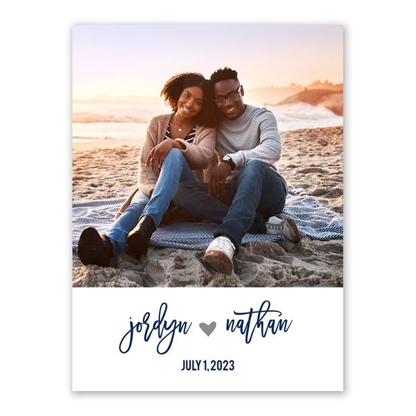 My Heart Save the Date Card