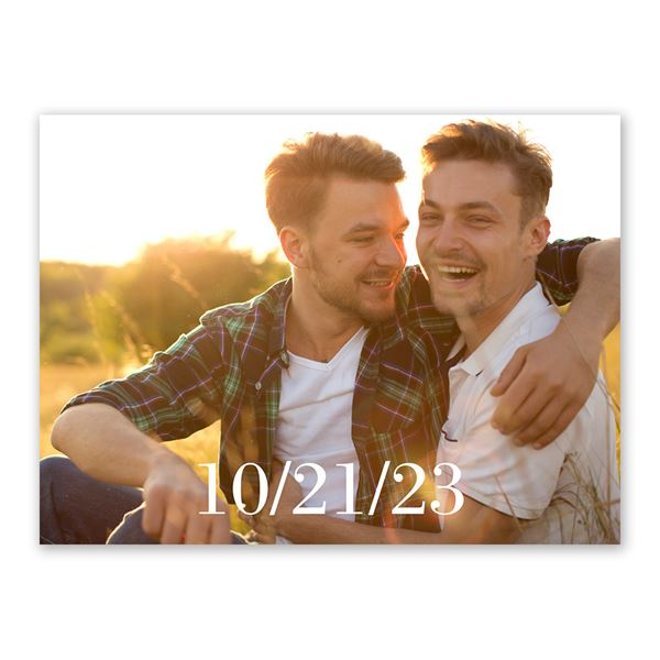 Simply Splendid Save the Date Card