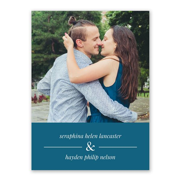 Our Day Save the Date Card