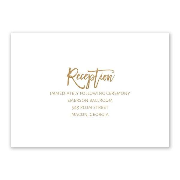 Allure Reception Card