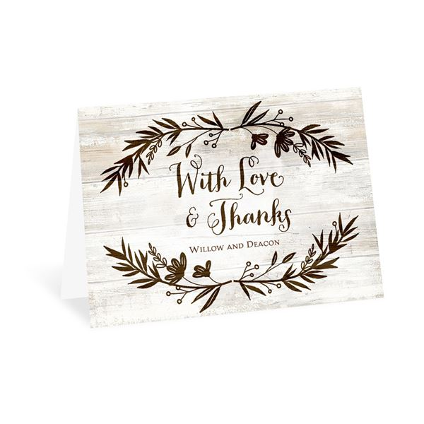 Rustic Fairy Tale Thank You Card