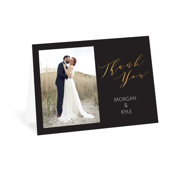Vows Thank You Card