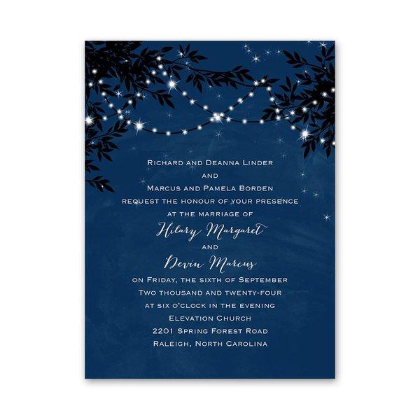 Under the Stars Petite Invitation