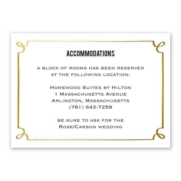 Modern Fairy Tale Information Card