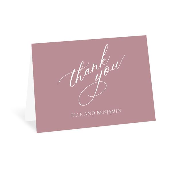 Love Comes Along Thank You Card
