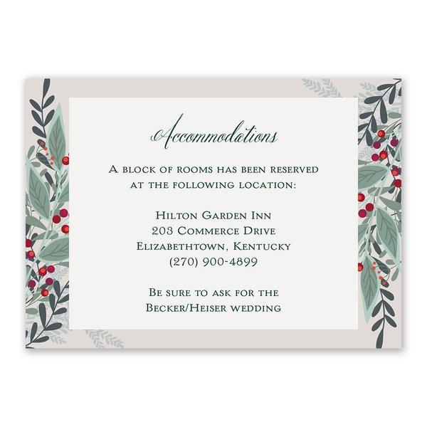 Sweet Mistletoe Information Card