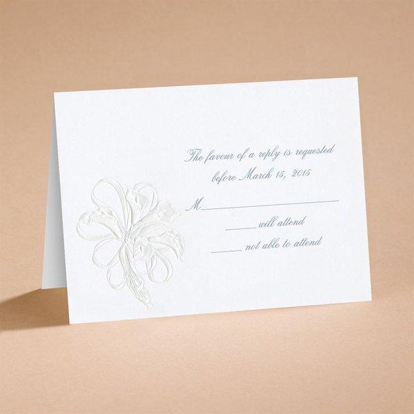 Lovely Respond Card and Envelope