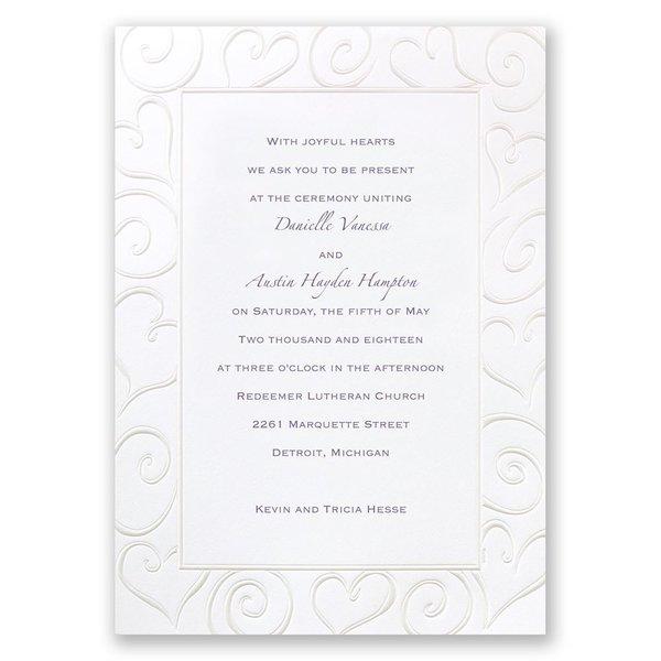 Pure Romance Invitation