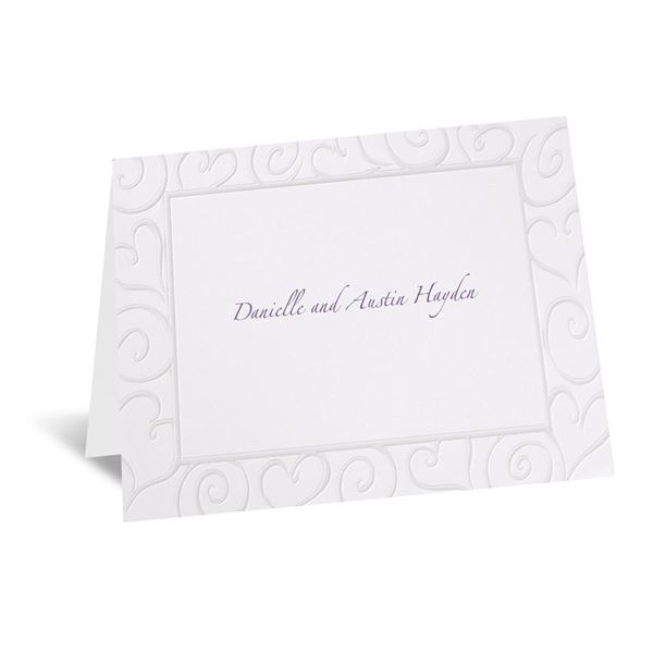 Pure Romance Note Card and Envelope