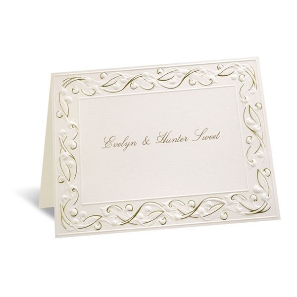 Gold Rush Note Card and Envelope