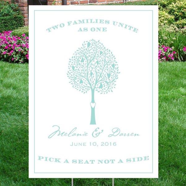 Tree of Love Yard Sign