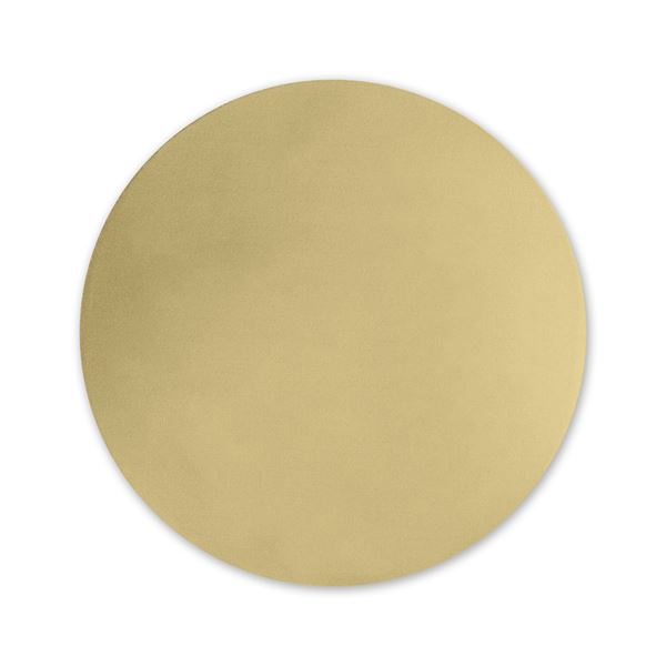 Round Foil Seal Gold