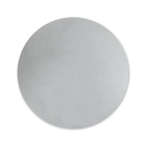 Round Foil Seal Silver