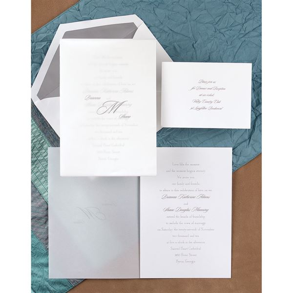 Sheer Simplicity Invitation