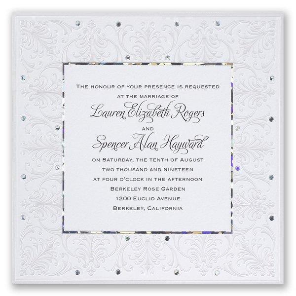 Forever Radiant Invitation