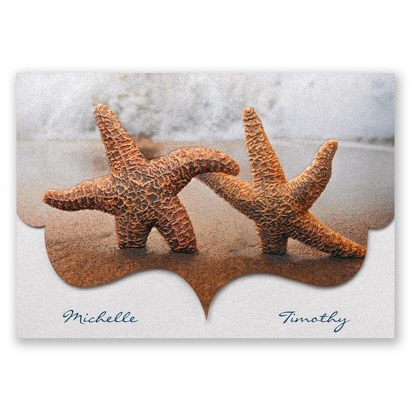 Smitten Starfish Invitation