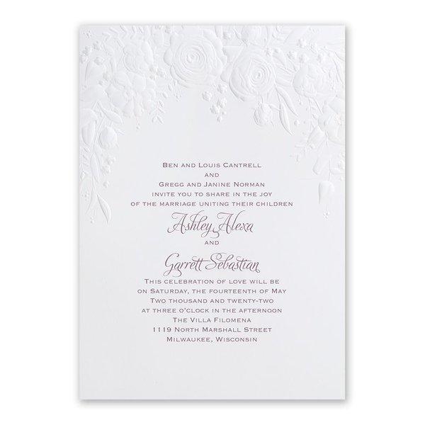 Rose Arch Invitation
