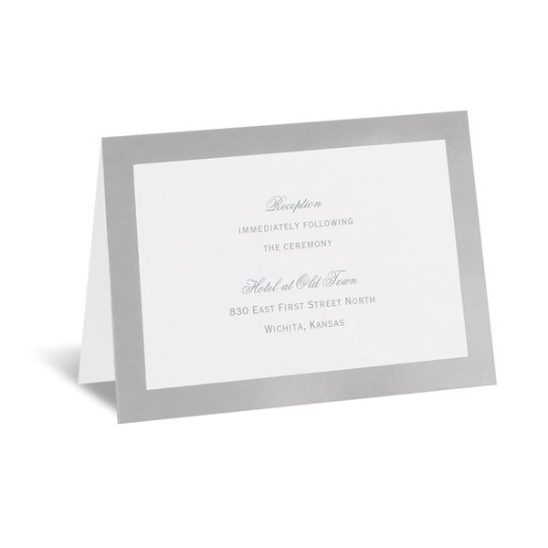 Pretty Layers Reception Card