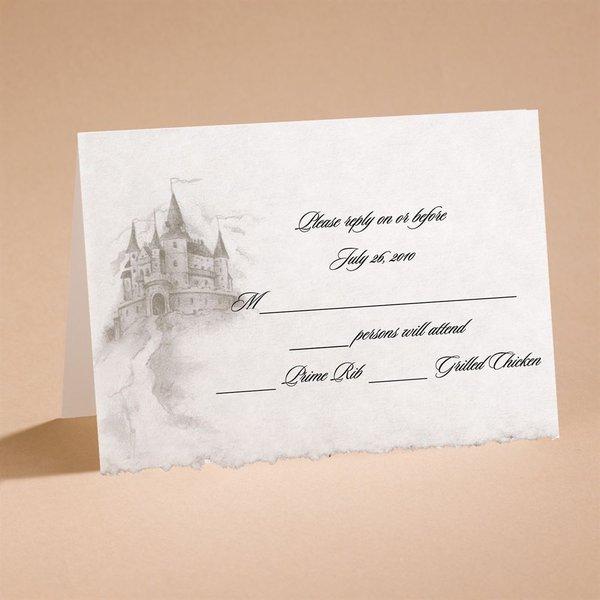 Dreams Do Come True Respond Card and Envelope