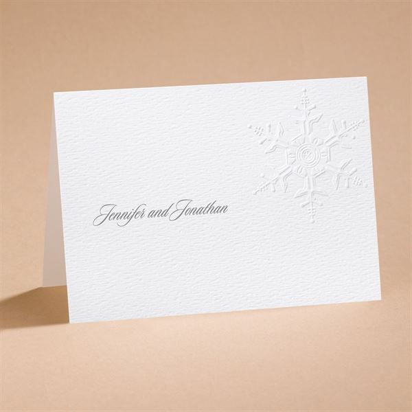 """Winter""""s Elegance Note Card and Envelope"""