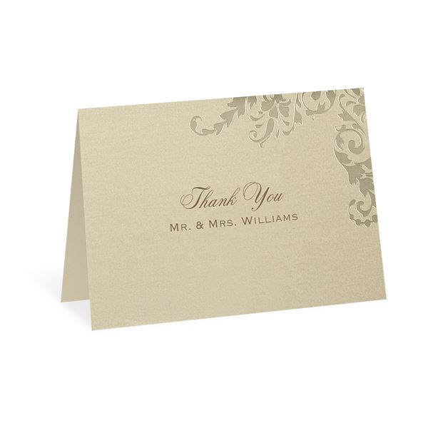 Flourish Reflections Thank You Card