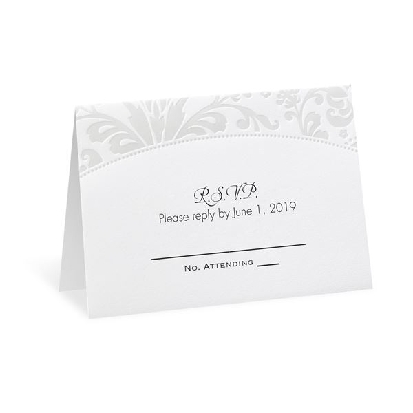 Pearl Flourish Response Card