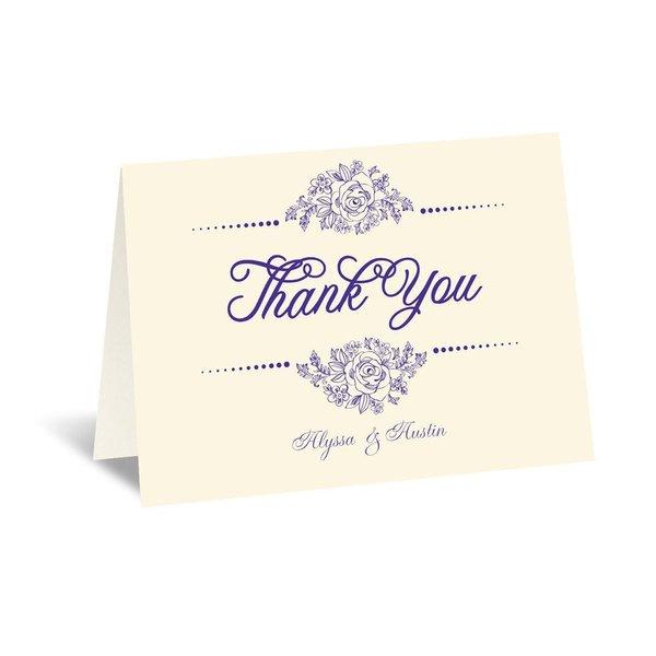 Fairy Tale Love - Ecru - Thank You Card