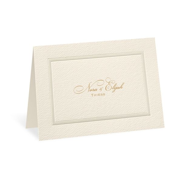 Pearl Frame Thank You Card