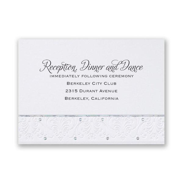 Forever Radiant Reception Card