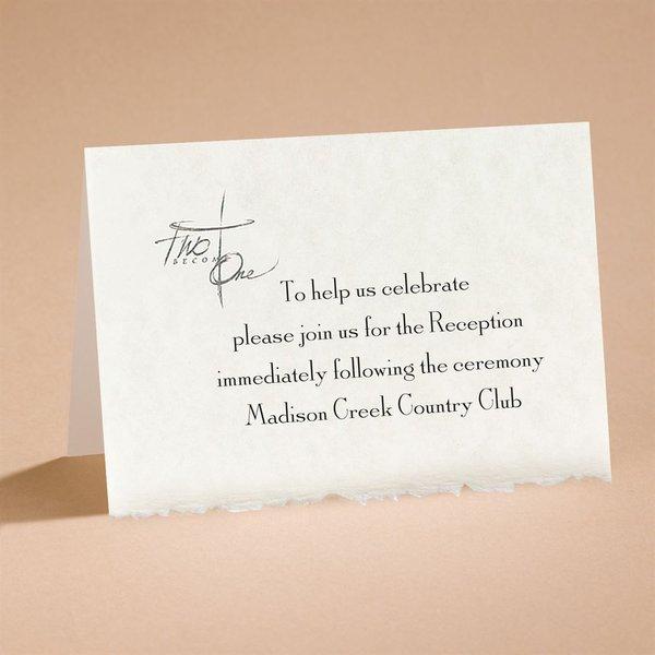Joined By Faith Reception Card
