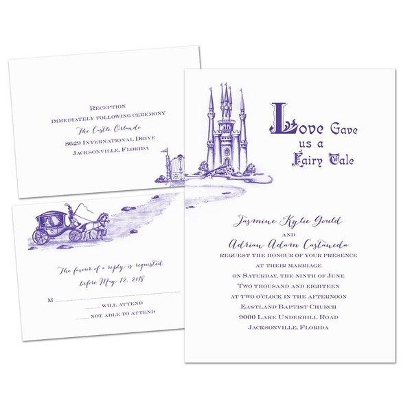 Lovely Ride - 3 for 1 Invitation