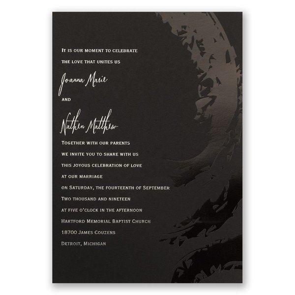 Bold & Refined Foil Invitation