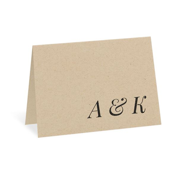 Naturally Chic Thank You Card