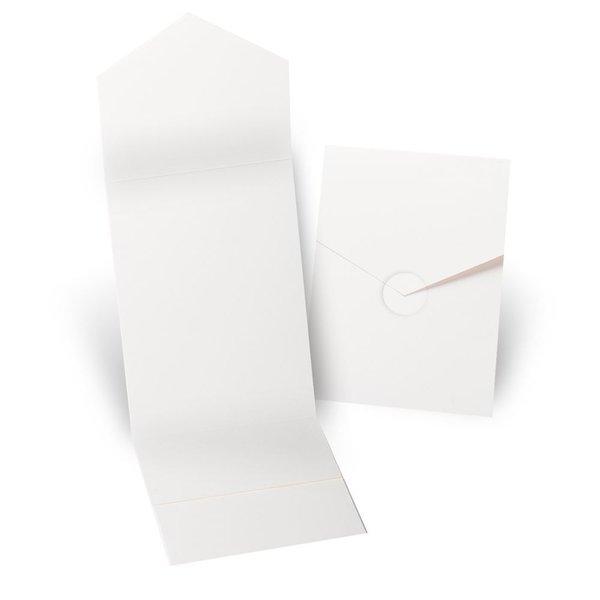 Ecru Invitation Pocket