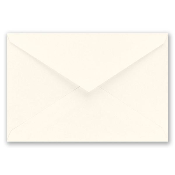 Ecru Inner Envelope 5 5/16 x 7 5/8