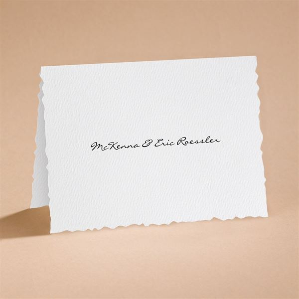 Textured Scalloped Edge Notecard and Envelope