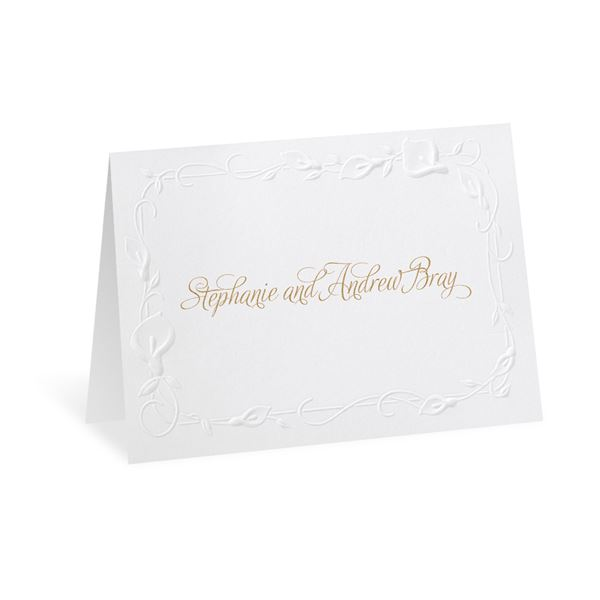 Beautiful Border Note Card and Envelope