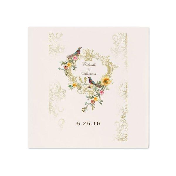 Vintage Birds - Ecru Dinner Napkin