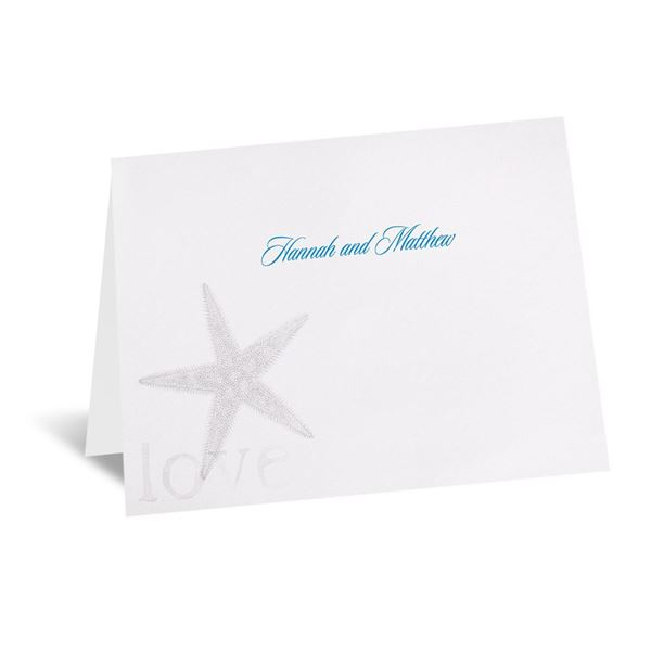 By the Seashore Note Card and Envelope