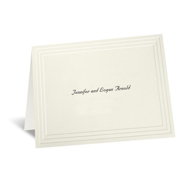 Timeless - Ecru Informal Card and Envelope