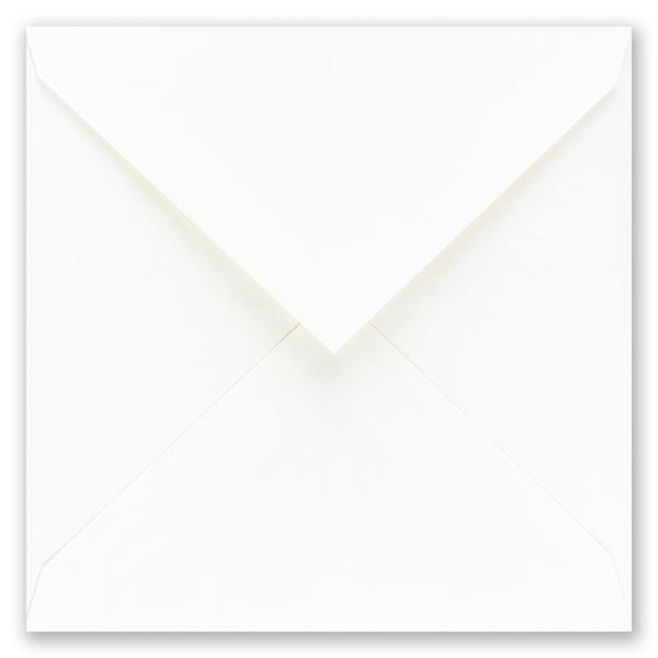 White Square Outer Envelope 6 3/4 x 6 3/4