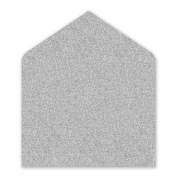Silver Glitter Envelope Liner