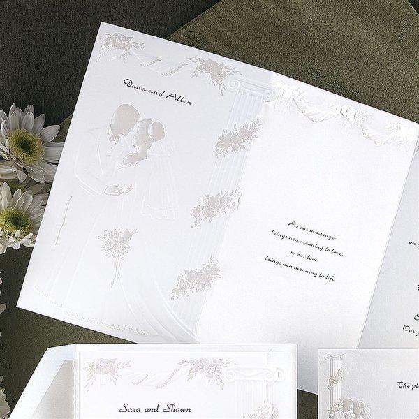 At Last Invitation Pearl Invitation