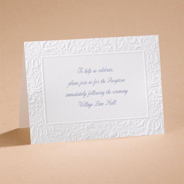 Ties That Bind Reception Card