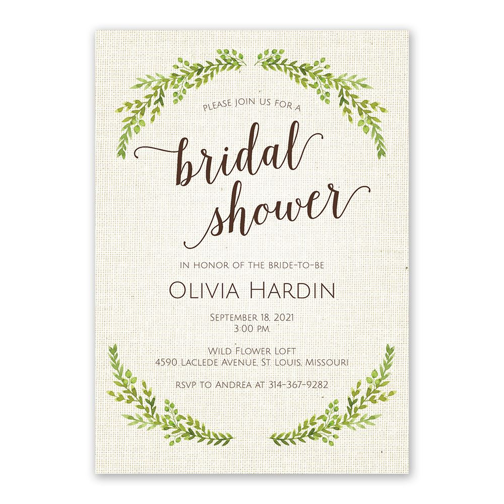 Botanical Bride Bridal Shower